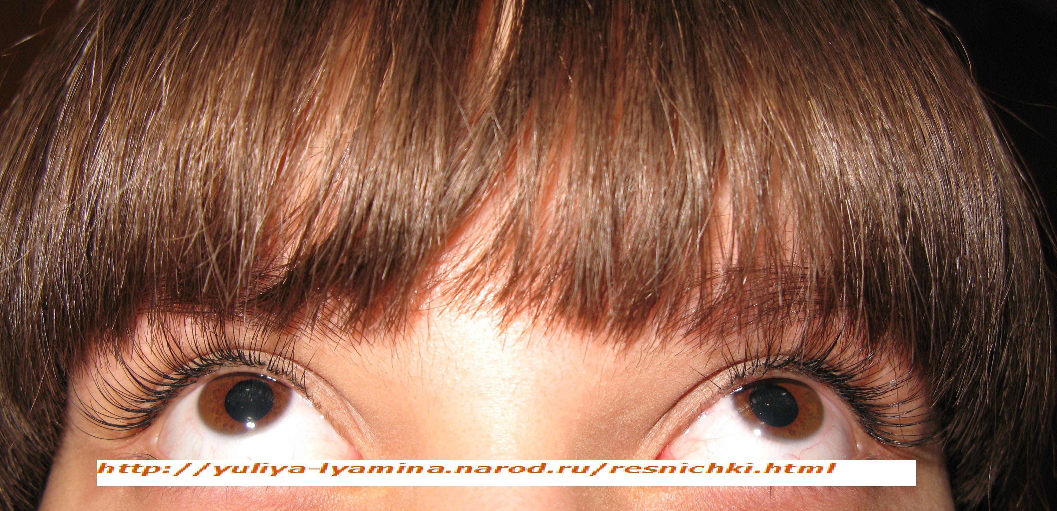 Наращивание ресниц 3д эффект фото норкой или шёлком