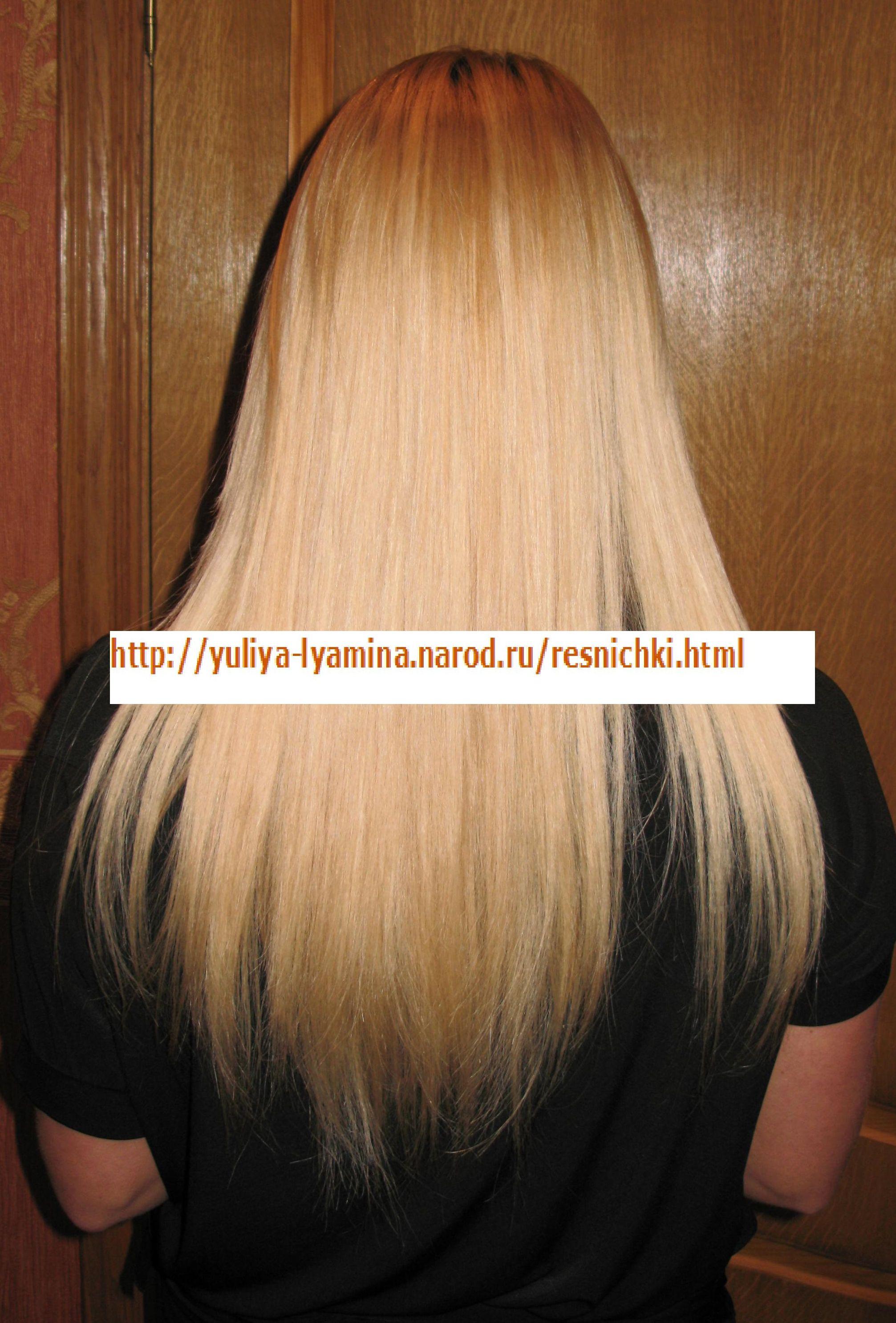 Ленточное наращивание волос  Отзывы покупателей